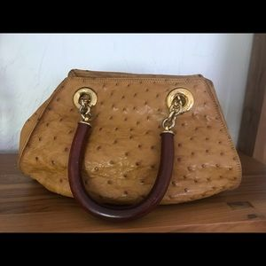 Genuine Ostrich handbag